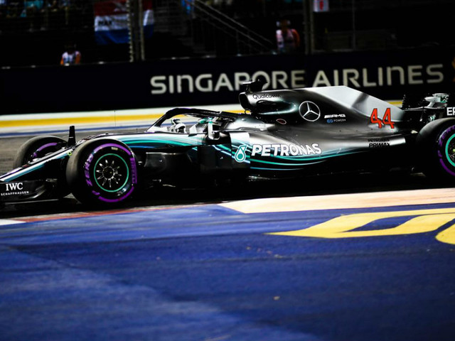 F1 Gp Singapore 2018, vince Hamilton, Vettel solo 3°, il mondiale per la Ferrari si allontana (ordine d'arrivo, tempi e nuova classifica)