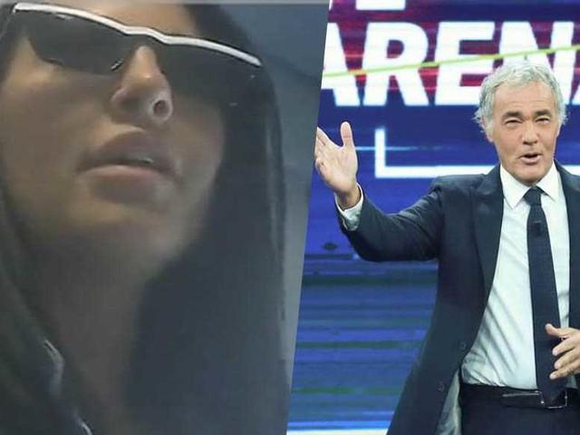 """Eliana Michelazzo furiosa con Giletti: """"C'erano telecamere nascoste"""" – ecco i filmati registrati di nascosto"""