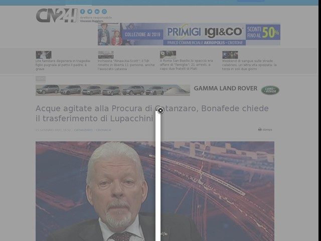 Acque agitate alla Procura di Catanzaro, Bonafede chiede il trasferimento di Lupacchini