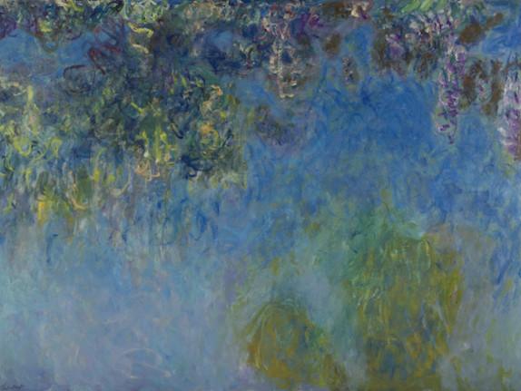 Scoperta in Olanda: sotto i Glicini di Claude Monet si cela una versione sconosciuta delle Ninfee