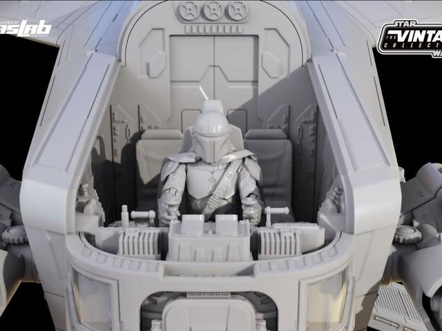 The Mandalorian, Hasbro ha presentato una versione enorme del Razor Crest