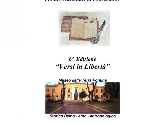 ?Versi in libertà?, concorso di poesie in lingua italiana e vernacolo