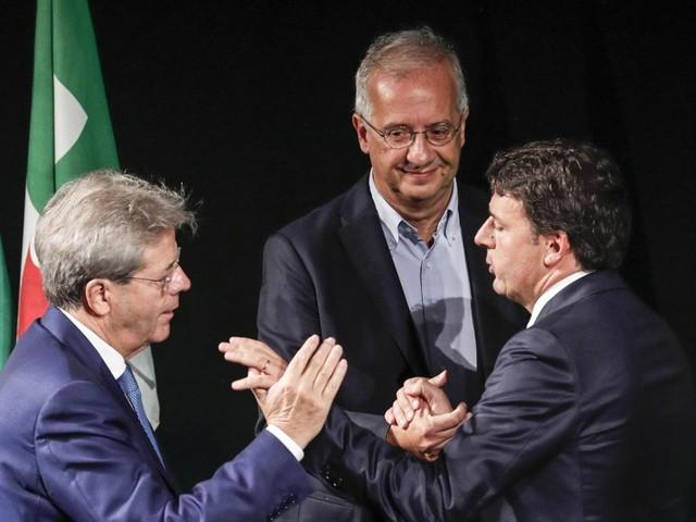 Lo ius soli si imbuca alla festa del Pd: Veltroni lancia l'appello, Gentiloni ne fa un impegno di governo, Renzi non coglie