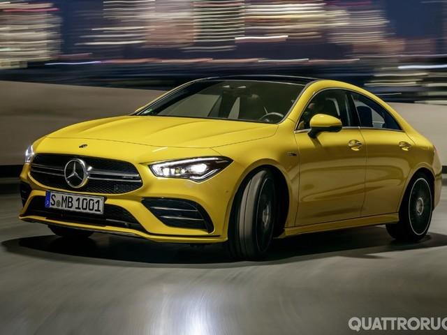 Mercedes-AMG CLA 35 - Anche la quattro porte arriva a 306 CV
