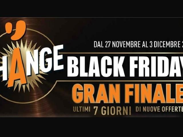 Volantino Unieuro Black Friday del 27 novembre per il gran finale