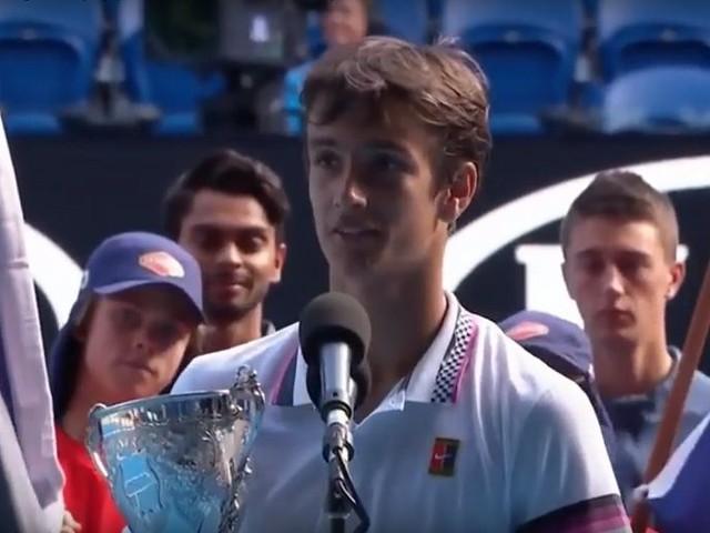 Lorenzo Musetti, un campioncino italiano ha vinto gli Australian Open junior