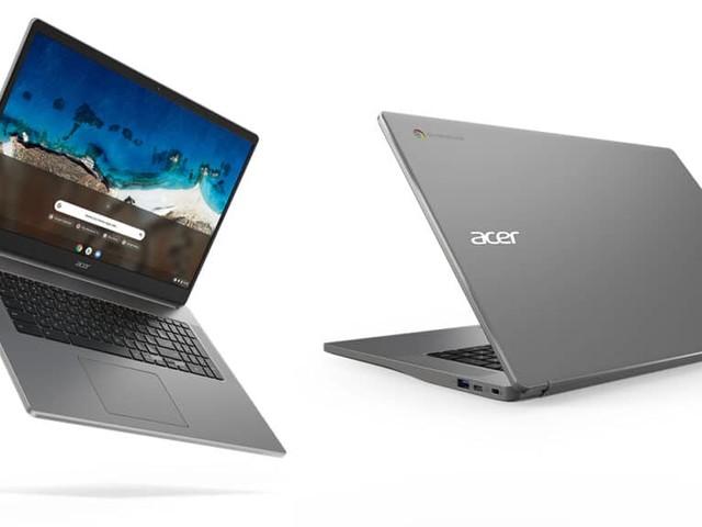 Acer presenta il primo Chromebook con uno schermo da 17 pollici