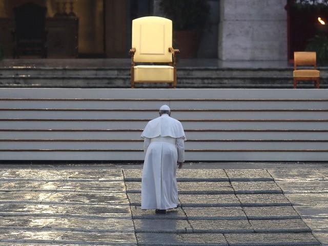 L'Urbi et Orbi di Papa Francesco conquista l'Italia: più di 8 milioni solo su Rai1