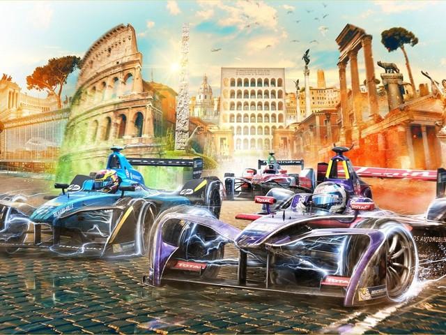 E-Prix Roma 2018 con 15 telecamere e 5 ore di diretta tv sui canali Mediaset