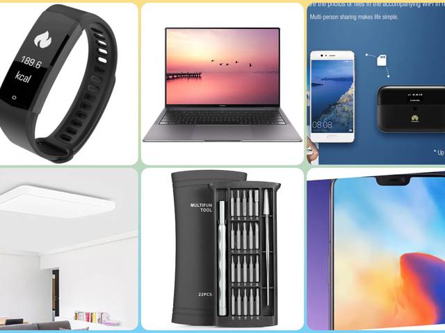 Migliori offerte e coupon GearBest: OnePlus 6 a 370€, nuovo box TV Xiaomi, Yeelight e le altre da non perdere