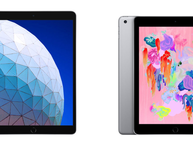"Differenze tra iPad Air 2019, iPad Pro 10,5"" 2017 e iPad 2018"
