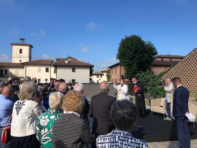 L'arcivescovo di Milano all'inaugurazione della Scuola per lavorare nell'Agroalimentare