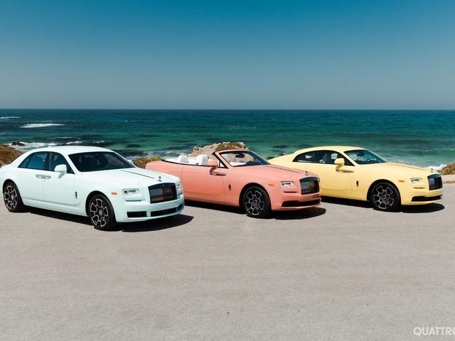 Rolls-Royce - Tutti i colori del lusso a Pebble Beach