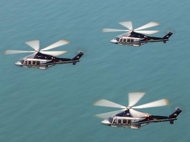 Leonardo presenta al Salone di Londra l'elicottero AW149
