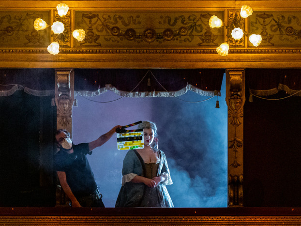 Musica: Massimo gira film opera su Mozart ai tempi lockdown