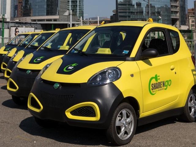 Share'nGo: stop temporaneo del servizio di car sharing elettrico a Milano