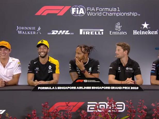 Norris-Ricciardo, ci risiamo: un altro siparietto