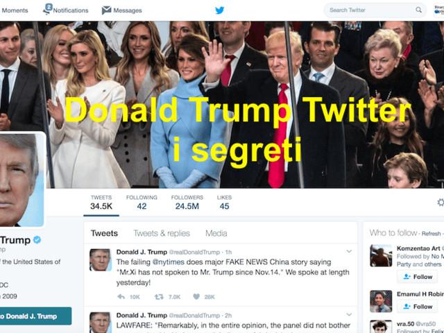 5 motivi per seguire Trump twitter: ti aiuta a fare trading!