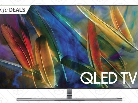 "Save $1,000 (Seriously) On Samsung's 65"" Quantum Dot-Powered 4K TV"