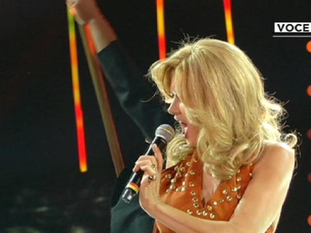 Eva Grimaldi è Milva/ Serve un'impresa per migliorare la classifica (Tale e Quale Show)