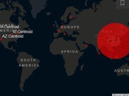 Coronavirus, la mappa del contagio: Italia prima in Europa per numero di casi