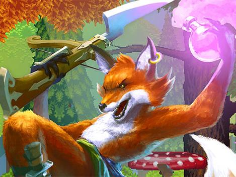 Fox 'n' Forests, un mix a 16-bit di GdR e platform, arriva oggi su PS4