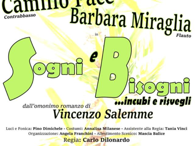 """Martina Franca: """"Sogni e bisogni. Incubi e risvegli"""" Teatro nel chiostro stasera"""