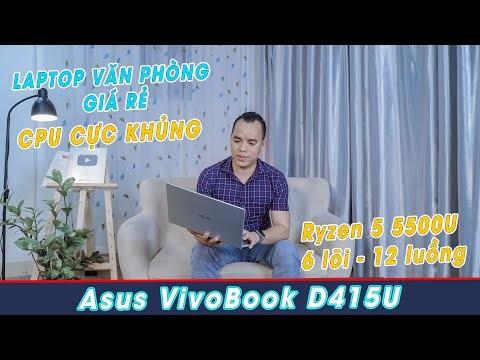 Đánh Giá Laptop Asus Vivobook D415UA Giá Rẻ CPU Cực Khoẻ