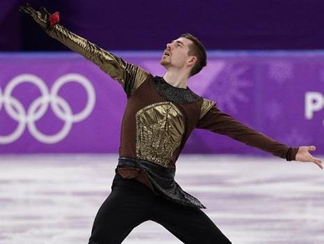 Una performance a tema Game of Thrones per un pattinatore alle Olimpiadi di PyeongChang 2018 (video)