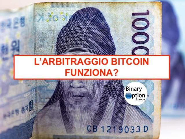Bitcoin Arbitraggio criptovalute: la strategia dei prezzi Bitcoin