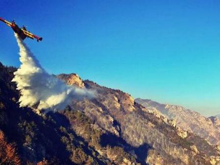 Incendio boschivo per una grigliata a due ragazzi di Como il conto: 27 milioni di euro da pagare