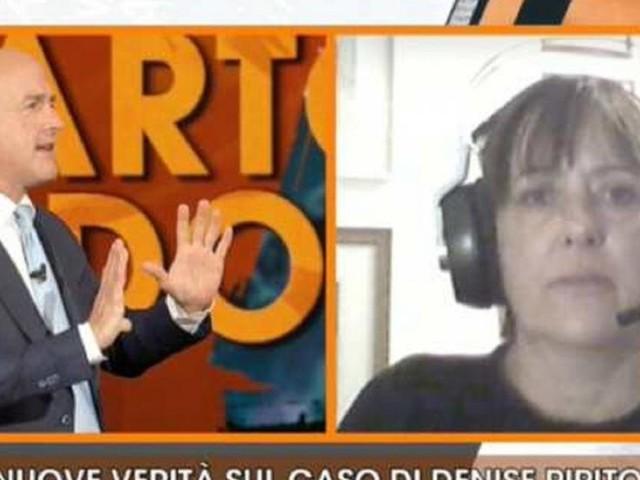 Denise Pipitone, scintille tra l'ex pm Angioni e Nuzzi, lei: 'Mi vuole mandare una bomba?'