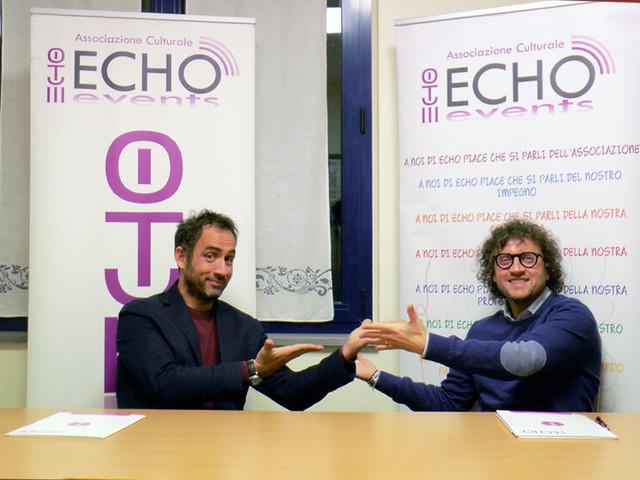 Carlo Maretti nel talk show dell'associazione culturale Echo Events