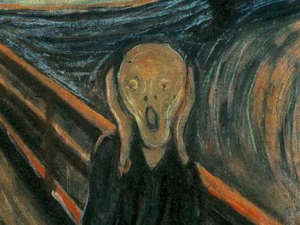 L'Urlo, Edvard Munch e la disperazione che tutto inghiotte