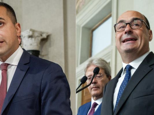 """Ultimatum di Di Maio sul programma. Zingaretti: """"Basta o non si va avanti"""""""