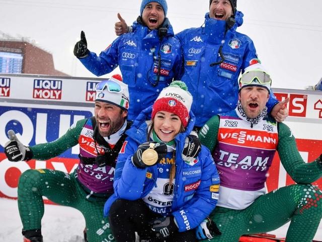 Biathlon, Mondiali: storica Dorothea Wierer, è oro nella mass start