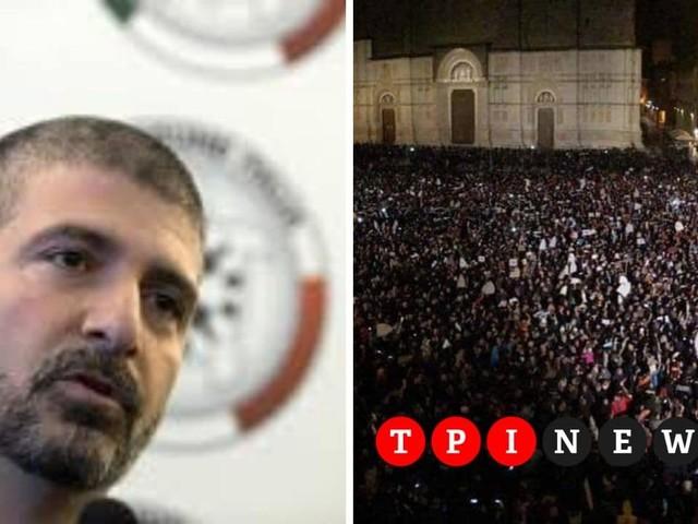 """Di Stefano (Casapound) a TPI: """"Pronti a scendere in piazza con le Sardine, ma senza bandiere"""""""
