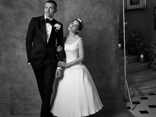 Un anno di matrimonio per Zoe Kravitz e Karl Glusman
