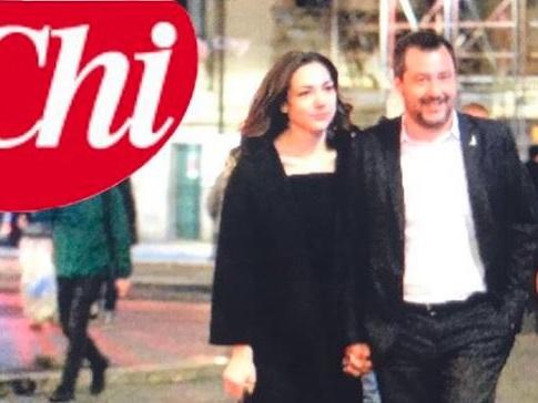 46 anni lui, 26 lei: ecco la nuova fiamma di Matteo Salvini