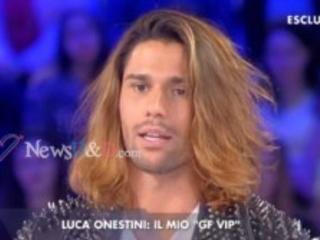 """Luca Onestini a """"Verissimo"""" dichiara : """"Non sento assolutamente la necessità di cercare la mia ex fidanzata Soleil Sorge e… Con Giulia Latini…"""""""