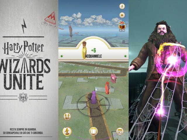 Harry Potter: Wizards Unite recensione del gioco Niantic in realtà aumentata