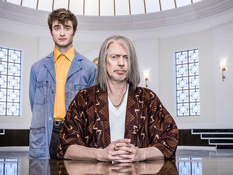 Steve Buscemi nei panni di Dio e Daniel Radcliffe in versione angelo nel primo teaser trailer di Miracle Workers