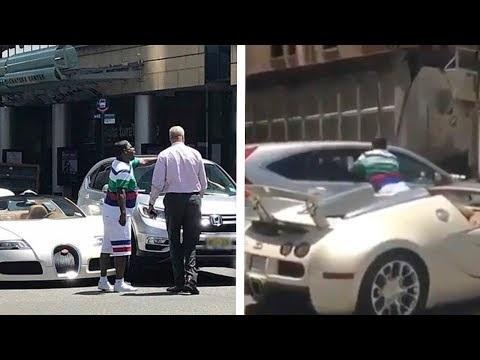 Bugatti Veyron: incidente per quella dell'attore Tracy Morgan [Video]