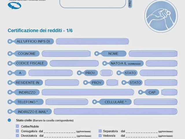 Modello RED 2020 pdf editabile