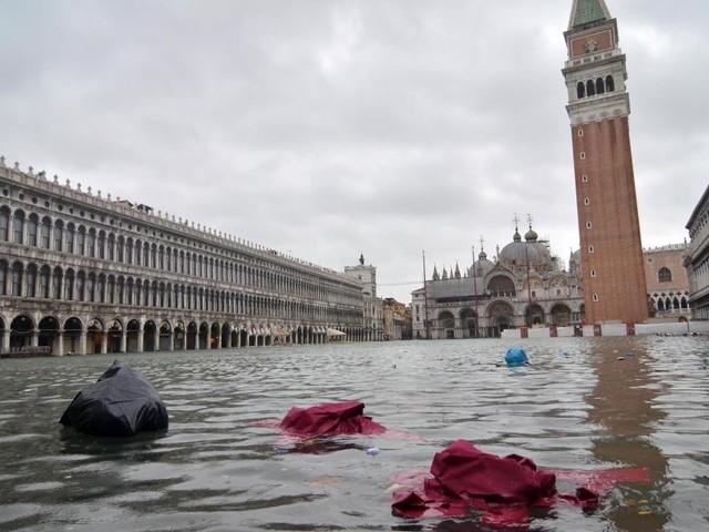 Venezia: la marea potrebbe raggiungere i 145 cm alle ore 11:20 di venerdì 15 novembre