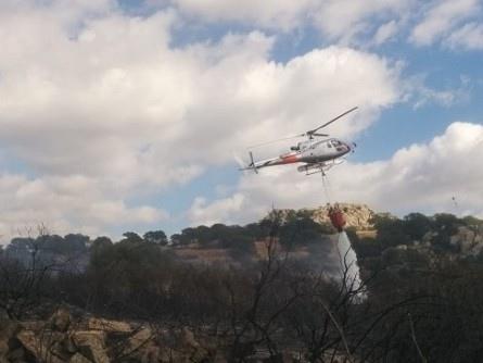 Scala Erre: grosso incendio divampato in discarica