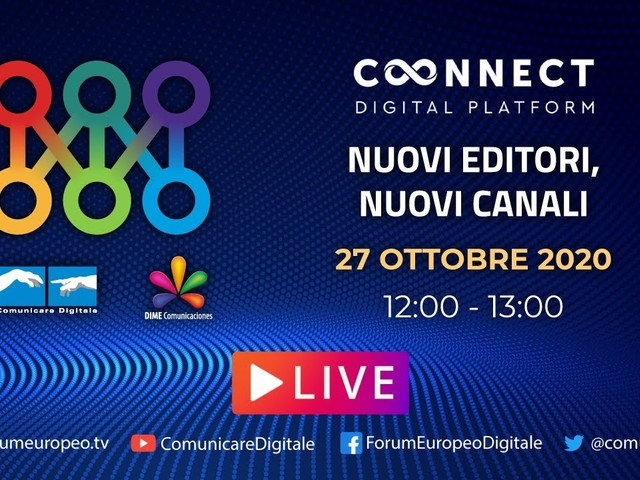 LIVE   Nuovi Editori, Nuovi Canali Tech Talk. Diretta streaming Digital-News.it