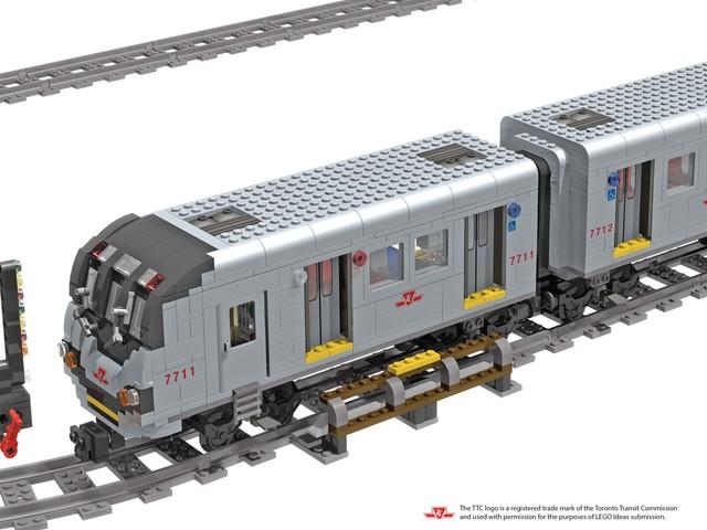Il Toronto Rocket Subway e gli altri progetti sopra i 10000 su LEGO Ideas