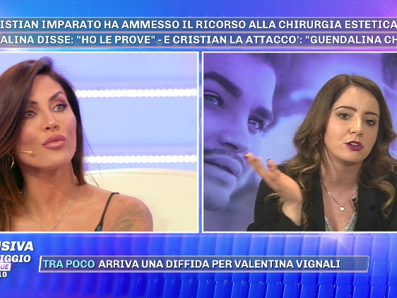 """Grande Fratello 16, Guendalina Tavassi contro Cristian Imparato: """"Ho il video di quando si è rifatto le labbra"""""""
