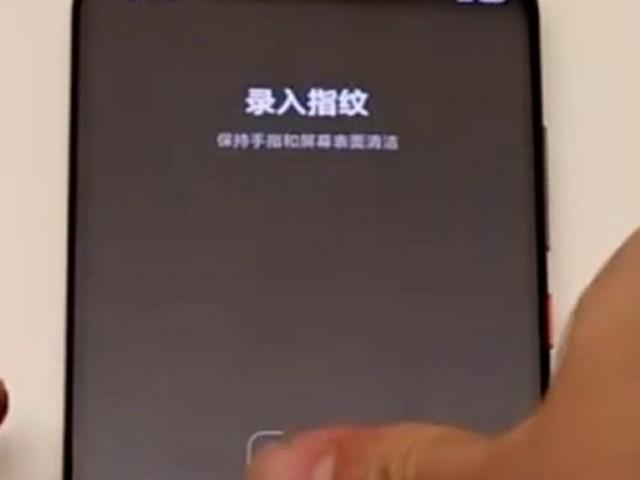 Xiaomi mostra il funzionamento del suo nuovo lettore di impronte digitali sotto il display